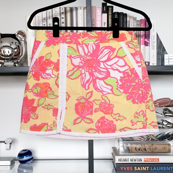Lilly Pulitzer Pants - Lily Pulitzer Floral Skort